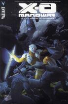 Couverture du livre « X-O Manowar T.1 ; l'armure de Shanhara » de Robert Venditti et Cary Nord aux éditions Panini