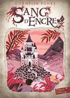 Couverture du livre « Sang d'encre t.2 » de Cornelia Funke aux éditions Gallimard-jeunesse