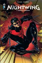 Couverture du livre « Nightwing T.1 ; pièges et trapèzes » de Kyle Higgins et Eddy Barrows aux éditions Urban Comics