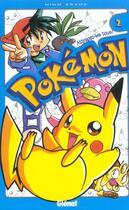 Couverture du livre « Pokemon t.2 » de Miho Asada aux éditions Glenat