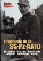 Couverture du livre « Chronique de la SS-PZ-AA 10 » de Stephan Cazenave aux éditions Heimdal