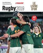 Couverture du livre « Livre d'or du rugby (édition 2019) » de Pierre-Michel Bonnot aux éditions Solar