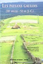 Couverture du livre « Paysans gaulois (les) » de Malrain/Matterne/Men aux éditions Errance