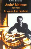 Couverture du livre « Le Roman D'Un Flambeur » de Kauffer-R aux éditions Hachette Litteratures