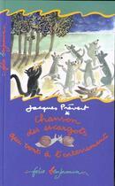 Couverture du livre « Chanson des escargots qui vont a l'enterrement » de Jacques Prevert aux éditions Gallimard-jeunesse