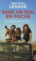Couverture du livre « Sans un sou en poche » de Benjamin Lesage aux éditions Arthaud