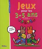Couverture du livre « Jeux pour les 3-5 ans » de Annette Boisnard aux éditions Casterman