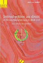 Couverture du livre « Introduction au droit et thèmes fondamentaux du droit civil (11e édition) » de Jean-Luc Aubert aux éditions Sirey