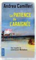 Couverture du livre « La patience de l'araignée » de Andrea Camilleri aux éditions Pocket