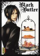 Couverture du livre « Black butler T.2 » de Yana Toboso aux éditions Kana