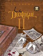Couverture du livre « Le décalogue t.2 ; la fatwa » de De Vita et Giroud aux éditions Glenat