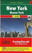 Couverture du livre « New York » de Serge Bloch et Dominique De Saint-Mars aux éditions Freytag Und Berndt
