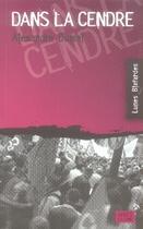 Couverture du livre « Dans la cendre » de Alexandre Dumal aux éditions Apres La Lune