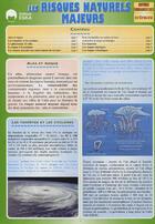 Couverture du livre « Les risques naturels majeurs » de Regis Demounem aux éditions Eska