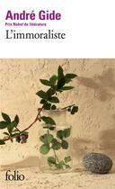 Couverture du livre « L'immoraliste » de Andre Gide aux éditions Gallimard