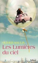 Couverture du livre « Les lumières du ciel » de Olivier Maulin aux éditions Balland
