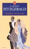 Couverture du livre « Tendre est la nuit » de Francis Scott Fitzgerald aux éditions Lgf