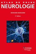 Couverture du livre « Neurologie (2e édition) » de Reinhard Rohkamm aux éditions Medecine Sciences Publications