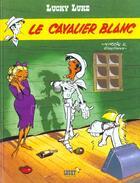 Couverture du livre « Lucky Luke T.43 ; le cavalier blanc » de Rene Goscinny et Morris aux éditions Lucky Comics