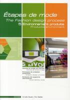 Couverture du livre « Étapes de mode t.4 ; environnement du produit » de Armelle Claude et Eric Rabiller aux éditions Esmod