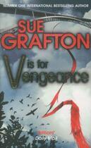 Couverture du livre « V IS FOR VENGEANCE » de Sue Grafton aux éditions Pan Books Ltd