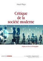 Couverture du livre « Critique de la société moderne » de Hedi Majri aux éditions Ovadia