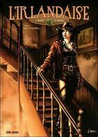 Couverture du livre « L'irlandaise t.1 ; Eva O'connell » de Jacques Pavot aux éditions Cleopas