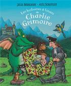 Couverture du livre « Les histoires à tiroirs de Charlie Grimoire » de Julia Donaldson et Axel Scheffler aux éditions Gallimard-jeunesse