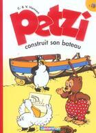 Couverture du livre « Petzi t.1; Petzi construit son bateau » de Hansen aux éditions Casterman