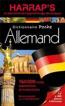Couverture du livre « Harrap s poche allemand » de Collectif aux éditions Harrap's