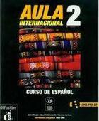 Couverture du livre « Aula internacional 2 libro del alumno + cd » de Corpas J aux éditions La Maison Des Langues