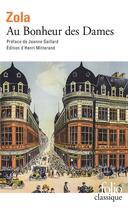 Couverture du livre « Au bonheur des dames » de Émile Zola aux éditions Gallimard