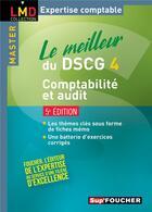 Couverture du livre « SUP'FOUCHER ; le meilleur du dscg 4 ; comptabilité et audit (5e édition) » de Georges Langlois et Micheline Friederich aux éditions Foucher