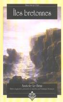 Couverture du livre « Îles bretonnes » de Anatole Le Braz aux éditions Terre De Brume