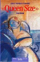 Couverture du livre « Queen size » de Louise Tremblay D'Essiambre aux éditions Guy Saint-jean