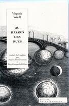 Couverture du livre « Au hasard des rues ; une aventure londonienne » de Virginia Woolf aux éditions Interferences