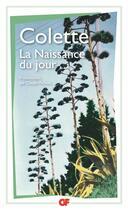 Couverture du livre « La naissance du jour » de Colette aux éditions Flammarion