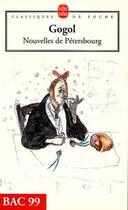 Couverture du livre « Nouvelles de Petersbourg » de Nicolas Gogol aux éditions Lgf