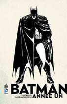 Couverture du livre « Batman ; année un » de David Mazzucchelli et Frank Miller aux éditions Urban Comics