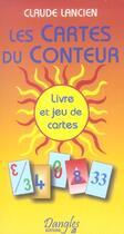 Couverture du livre « Cartes du conteur » de Claude Lancien aux éditions Dangles
