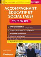 Couverture du livre « Accompagnant éducatif et social (AES) » de Agnes Busko aux éditions Studyrama