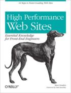 Couverture du livre « High performance Web sites » de Steve Souders aux éditions O'reilly Media