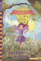 Couverture du livre « L'école des fées T.10 ; la chasse au trésor » de Titania Woods et Smiljana Coh aux éditions Gallimard-jeunesse