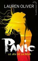 Couverture du livre « Panic, le jeu de la peur » de Lauren Oliver aux éditions Black Moon