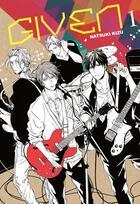 Couverture du livre « Given T.1 » de Natsuki Kizu aux éditions Taifu Comics