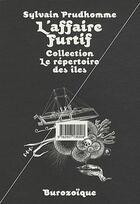 Couverture du livre « L'affaire furtif » de Sylvain Prudhomme et Bianchi aux éditions Burozoique