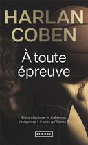 Couverture du livre « À toute épreuve » de Harlan Coben aux éditions Pocket