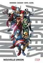 Couverture du livre « Uncanny Avengers T.1 » de Rick Remender et Daniel Acuna aux éditions Panini