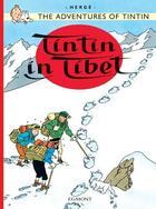 Couverture du livre « Tintin in Tibet » de Herge aux éditions Casterman