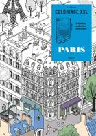 Couverture du livre « ART-THERAPIE ; coloriage XXL ; Paris » de Jerome Meyer-Bisch aux éditions Hachette Pratique